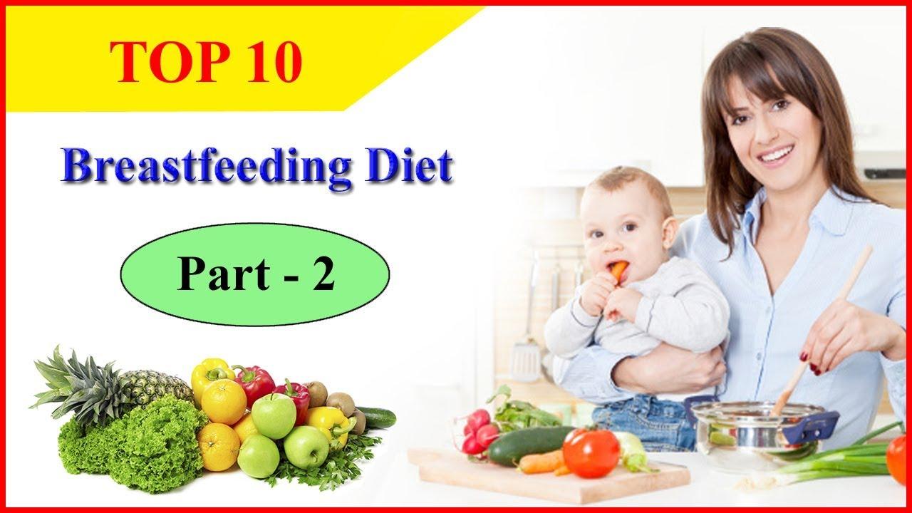 Breastfeeding Diet – Top 10 Useful Breastfeeding Foods and ...